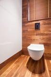 Toilette en bois et élégante photo libre de droits