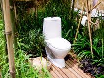 Toilette extérieure Images libres de droits