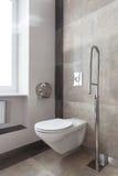 Toilette für Behinderte Stockbild