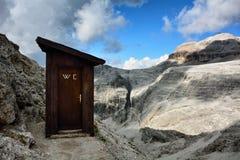 Toilette im Himmel Lizenzfreies Stockfoto