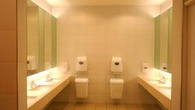 Toilette moderna e facilità sanitarie in un edificio pubblico, Germania Europa fotografie stock