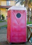Toilette portátil Fotografía de archivo libre de regalías