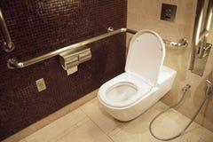 Toilette pour des débronchements Photo libre de droits
