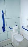 Toilette pour des handicapés. Photos libres de droits