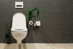 Toilette pour les gens handicapés Photos libres de droits