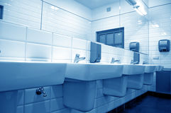 Toilette publique Image libre de droits