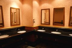 Toilette publique Image stock