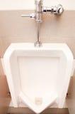 Toilette publique d'hommes Image stock