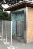 Toilette publique française de toilette de commodité Image libre de droits