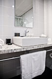 Toilette room in hotel Royalty Free Stock Photo