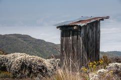 Toilette su Kilimanjaro Fotografia Stock