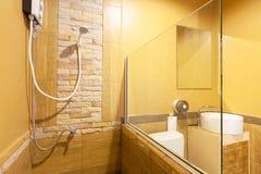 Toilette und Badezimmer Stockbild