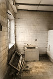 Toilette/Waschraum Stockbild