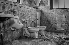 toiletten Royalty-vrije Stock Afbeeldingen