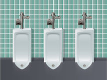 Toiletten-Abbildung Lizenzfreies Stockbild