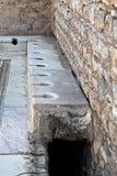 Toiletten in Ephesus Lizenzfreie Stockbilder