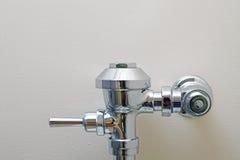 Toiletten-Griff stockfoto