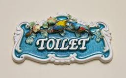 Toiletten-Zeichen Lizenzfreie Stockbilder