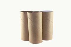 Toilettenpapier ist hilflos stockbild
