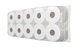 Toilettenpapier-Verpackung vektor abbildung