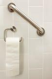 Toilettenpapierstange Stockbild