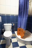Toilettenraum Stockfotografie