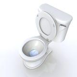 Toilettensitz Lizenzfreie Stockbilder
