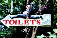 Toilettenzeichen Stockfotos