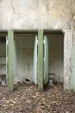 Toilettes abandonnées Photos libres de droits