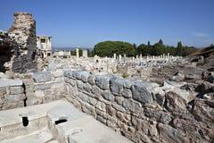 Toilettes dans Ephesus Photo libre de droits