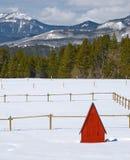 Toilettes de montagne Images stock