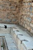Toilettes du passé Image libre de droits