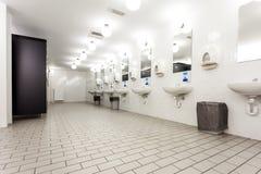 Toilettes et peau Images libres de droits