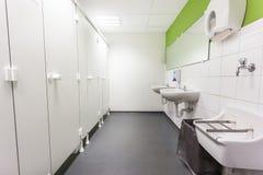 Toilettes et peau Photographie stock
