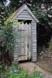 Toilettes extérieures Photos stock