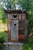 Toilettes extérieures Photo libre de droits