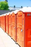 Toilettes portatives Image libre de droits