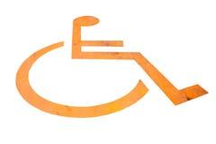 Toilettes pour handicapé Photos stock