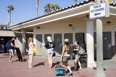 Toilettes publiques Photographie stock libre de droits