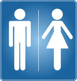 Toiletteteken Stock Foto's