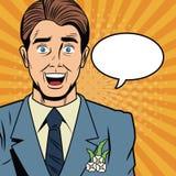 Toilettez la sécurité d'Internet de bande dessinée d'art de bruit, baniking en ligne illustration stock