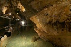 Toirano grottor - västra Ligurian Riviera - Italien Arkivfoton