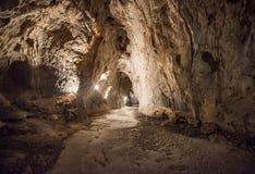 Toirano-Höhlen, Italien lizenzfreie stockbilder