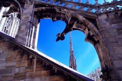 Toit 1 de cathédrale images libres de droits