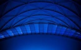 Toit bleu de dôme   images stock