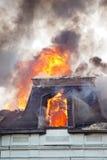 Toit brûlant Photographie stock libre de droits