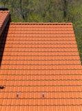 toit carrelé moderne photo libre de droits