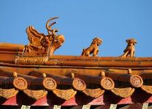 Toit chinois Photos stock