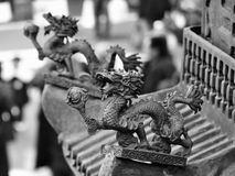 Toit chinois Photographie stock