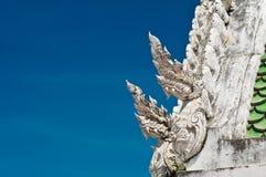 Toit d'église de la Thaïlande photo libre de droits